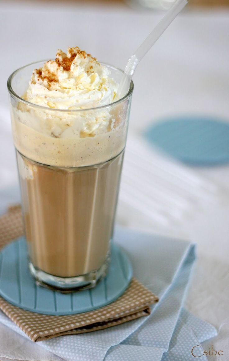 Ahogy gyorsban nálunk készül. Nem igazán vagyok - voltam - nagy kávés, de egy finom kapucsínó, vagy jegeskávé jöhet bármikor.    Elkészítés ...