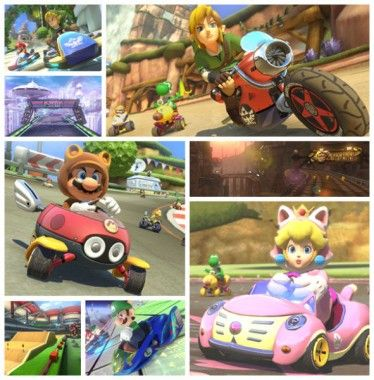 Two DLC packs have been announced for Mario Kart 8 including two new cups, new characters and new vehicles alongside some other bonuses.