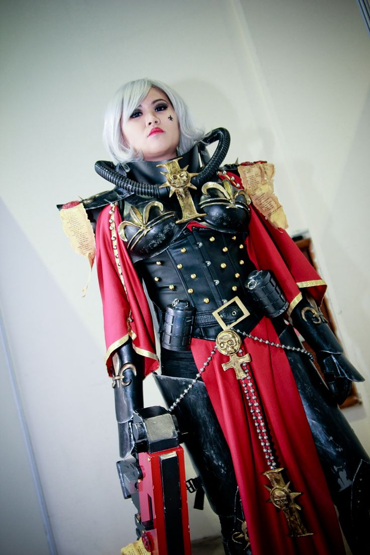 sisters battle 40k cosplay of Warhammer