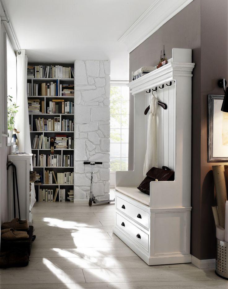 Garderoba Mahoniowa Shipley z szufladami drewnianymi  http://www.seart.pl/garderoby-c-777.html