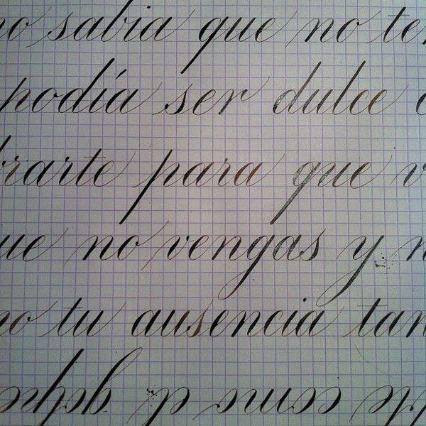 Some Copperplate Calligraphy By Ramiro Espinoza Via