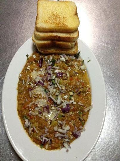 #Gujarati Special : Pav Bhaji @ Mr India. Book YOUR TABLE TODAY....! http://www.mrindia.pl/