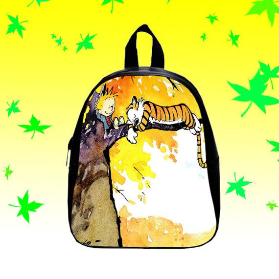 Calvin and Hobbes  Backpack/SchoolBags for Kids. by FACIALBAG