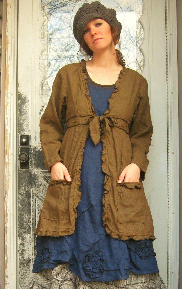 Dress Jacket by sarahclemensclothing on Etsy, $159.00
