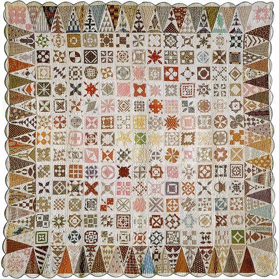 Dear Jane, le quilt qui traverse les âges. - Tutos patchwork, créations couture, photos de quilts, trucs et astuces autour du patchwork