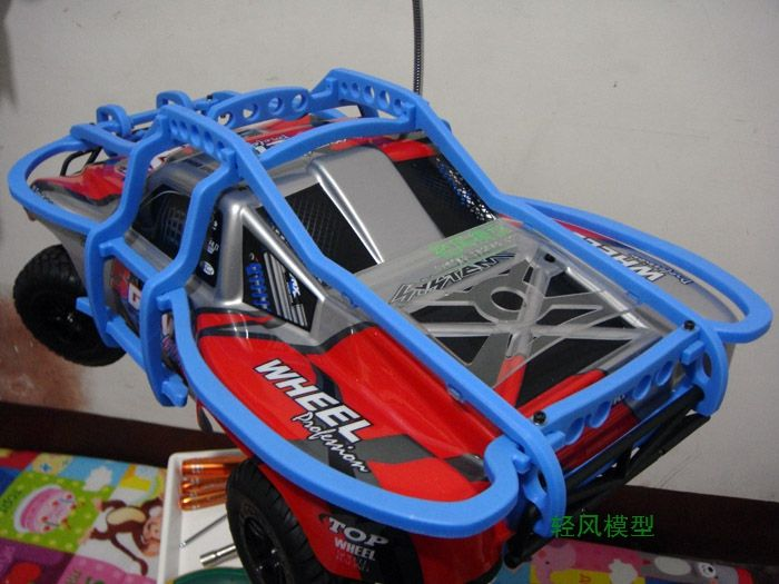 buy rc car parts remote control car roll cage protective cover imported nylon production suitable #traxxas #slash #parts