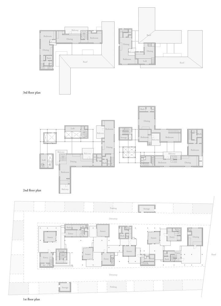 Dragon Court Village / Eureka