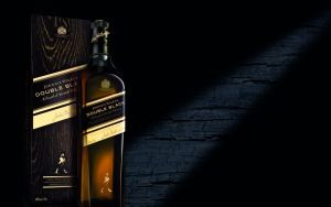Preview wallpaper johnnie walker, double black, whiskey