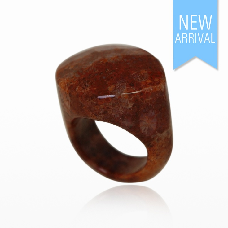 Ring Solid Obsidian #Ring #NewArrivals #GinaAdornments