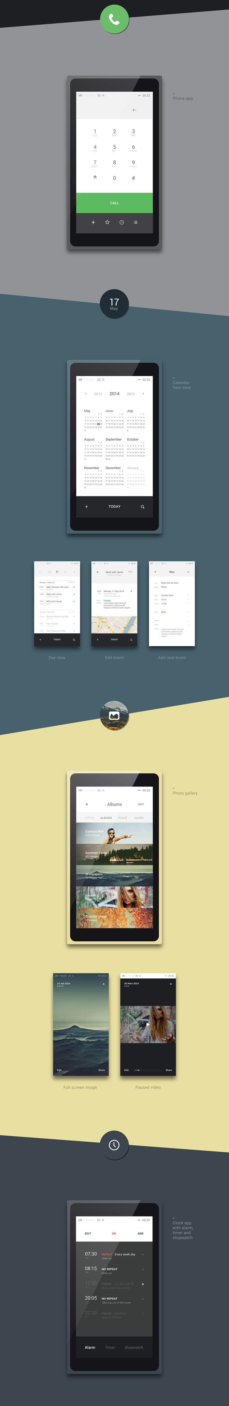 Bang OS — Mobile Operative System on Behance