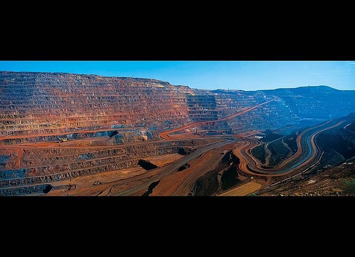 Mount Whaleback iron ore mine, Newman, Western Australia