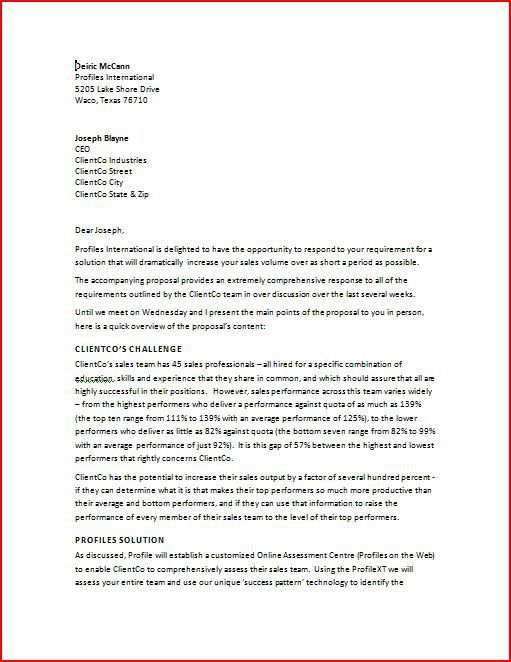 Sample Business Proposal Letter #business #news #today http://bank.remmont.com/sample-business-proposal-letter-business-news-today/  #business proposal # Sample Business Proposal Letter H ere s a sample business proposal letter. Figures 1 and 2 present the cover letter produced to accompany the proposal written in the module entitled Writing the Proposal Content' using the principles outlined in the module 'The Importance of the Business Proposal Cover Letter'. Remember how in … Read More →
