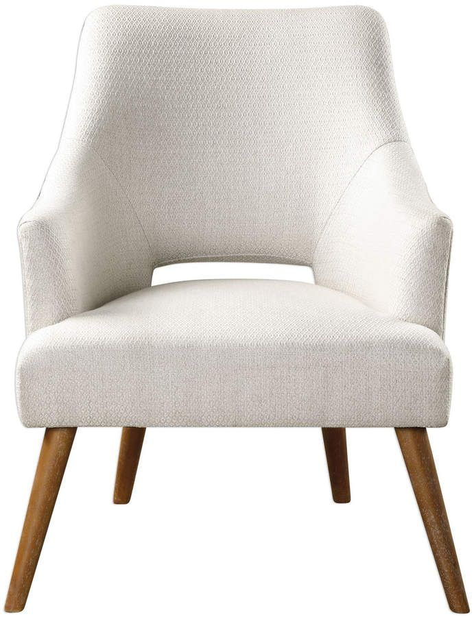 Lulu Amp Georgia Althea Accent Chair White In 2019 Accent