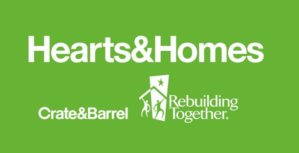 During the 2013 holiday season, you can help Crate and Barrel support Rebuilding Together with the purchase of their limited-release artist ornaments and special-edition $100 gift cards. For each ornament sold, Crate and Barrel will donate $10 to Rebuilding Together. For every $100 special-edition gift card sold, Crate and Barrel will donate $20 to Rebuilding Together, available only in U.S. stores.