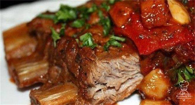 243 отметок «Нравится», 1 комментариев — Вкусные рецепты (@chef_cooking_) в Instagram: «Свиные ребрышки, тушенные в мультиварке, в томатном соусе. В мультиварке получаются просто…»