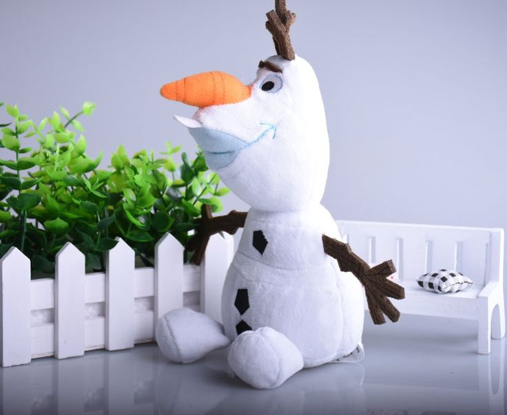 2.64$  Know more - Cute Olaf Plush Kids Toys Kawaii 23cm Snowman Cartoon Plush Toys Doll Soft Stuffed Toys Brinquedos Juguetes Gift for kids Gift   #buyininternet