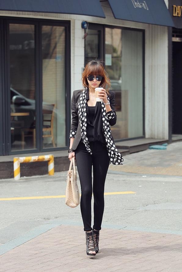 black.scarf