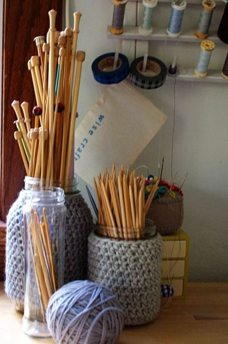 How To Store Knitting Needles : Best images about storing needles hooks on pinterest