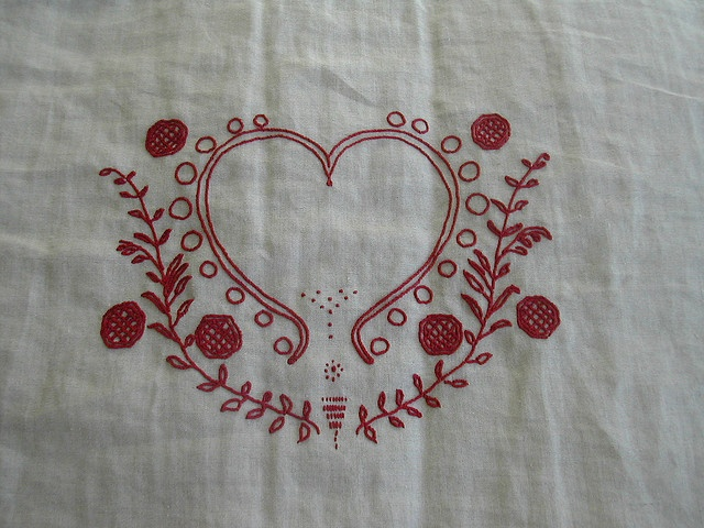 Best red work images on pinterest embroidery designs