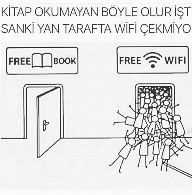 Sanki yan tarafta wifi çekmiyor..! #aklınıkullan