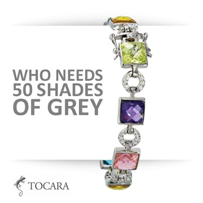 Tocara Isidora Bracelet | DiAmi - Sterling Silver - Rhodium plated #tocarausa www.tocaraplus.com/Colorado