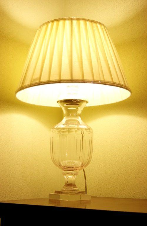 Lampada vetro potiche. H.cm.51 http://www.pisanogenova.it/catalogo/100-lampada-vetro-potiche