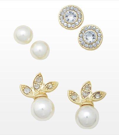 Earring Pearl set #DYNHOLIDAY