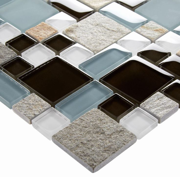 165 best Glass and Stone Tiles images on Pinterest Kitchen