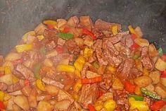 Spanischer Kartoffeltopf