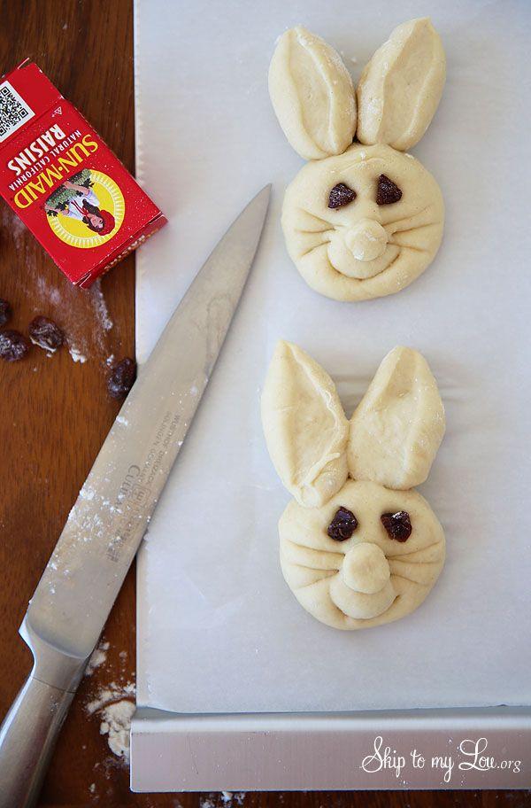 How To Make Bunny Rolls | Skip To My Lou | Bloglovin'