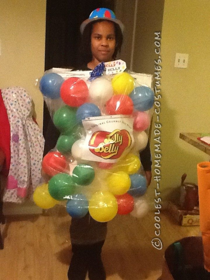 Coolest Homemade Jelly Beans Costume... This website is the Pinterest of costumes