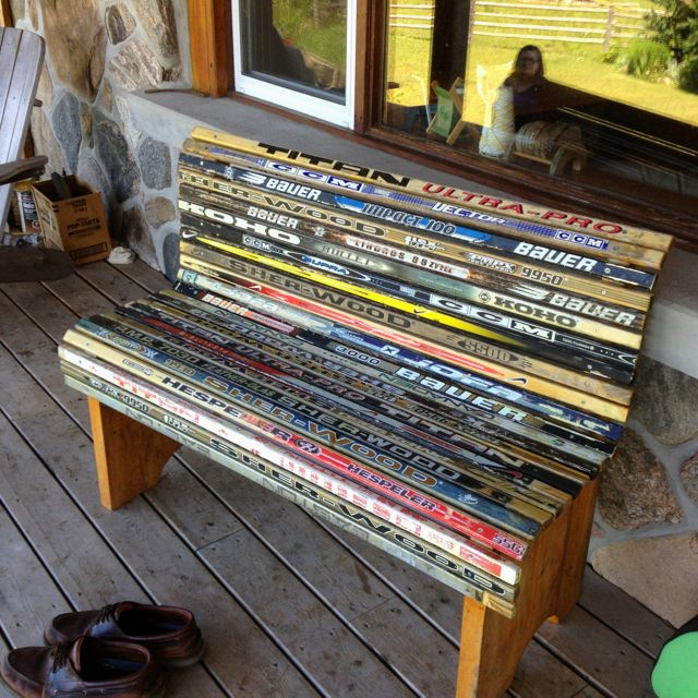 74 Best Broken Hockey Stick Projects Images On Pinterest