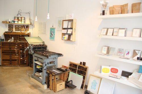 Small Caps: Druckatelier & Shop in Berlin