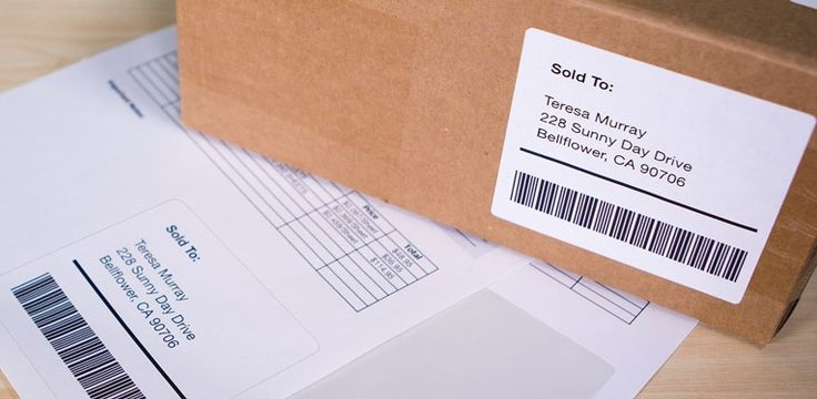 Simplify your shipping process with shipping labels + packing slips in one | OnlineLabels.com