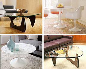 Table Basse Noguchi Style pas cher