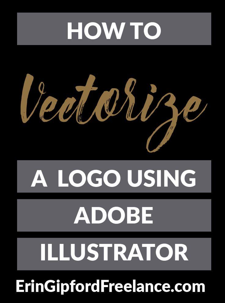 Adobe Illustrator Tutorial: Learn how to vectorize a logo in Adobe Illustrator.