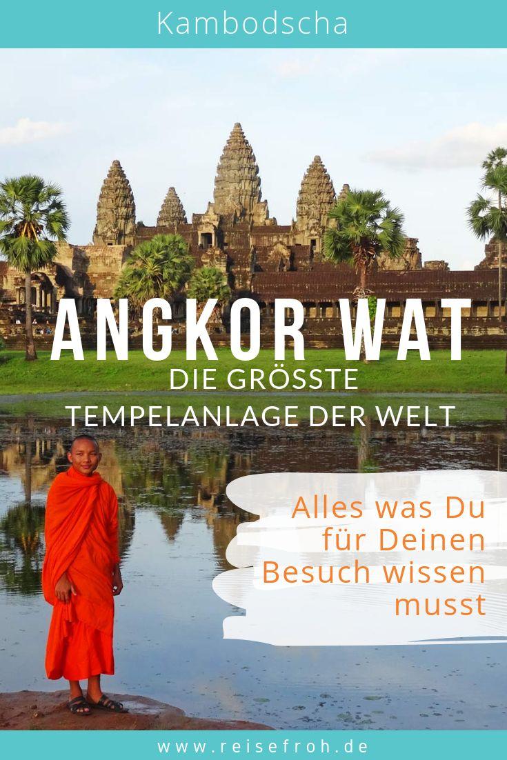Angkor Wat, Tempel & Siem Reap: Das musst Du wissen!