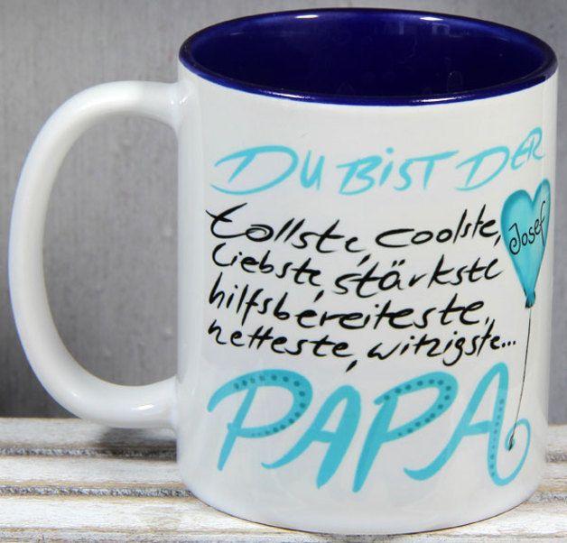 *Tassen, Namenstassen, Becher* mit individuellem Namenszug von _*Tassen und mehr - My-SweetHeart*_  Die liebevoll personalisierten Keramik Designer Tassen sind spülmaschinenfest und echte Tassen...