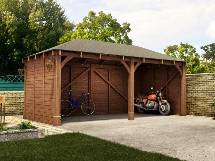 17 best images about garages on pinterest hercules for Carport construction costs