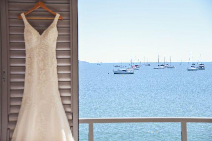 Wedding Dress - Wedding Photographer - Lisa Michele Burns - Destination Wedding