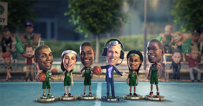 All-star basketball players offer tips for reducing electricity consumption at home.