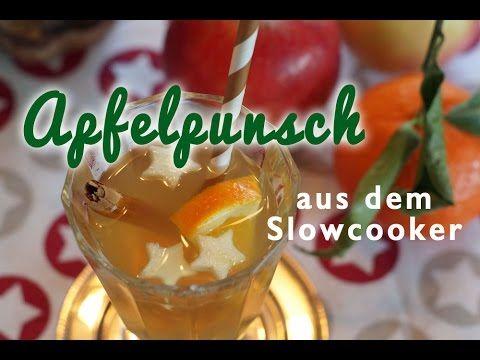 Slowcooker Quickie: Apfelpunsch für Groß & Klein | Crocky-Blog