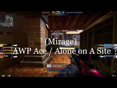 Awp ACE! on mirage!