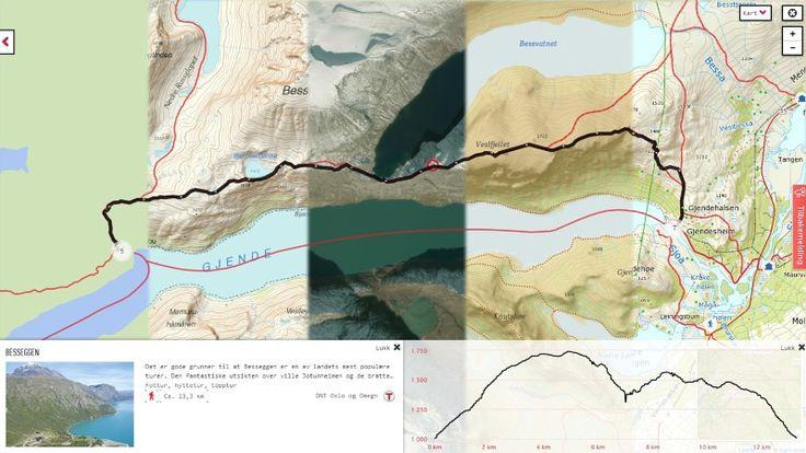 Se GPS-spor og smarte turkart