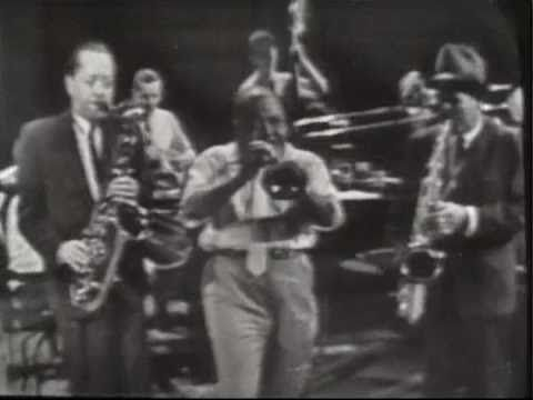 "The end of Coleman Hawkins and many friends playing ""Jumpin' with Symphony Sid"" is cut off, but the rest is fabulous. See more at http://www.dailymusicbreak.com."