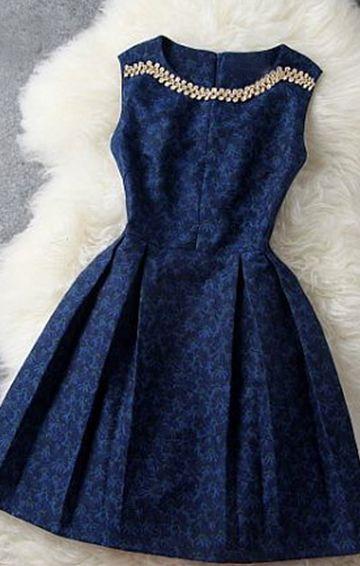 Little Navy Dress, stunning
