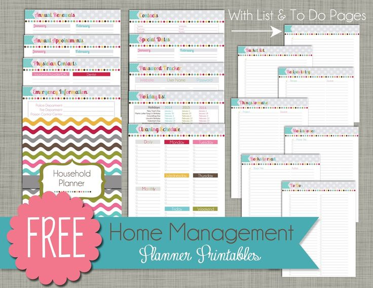 5 Tips to Organize Your Life & Free Printable Daily Planner
