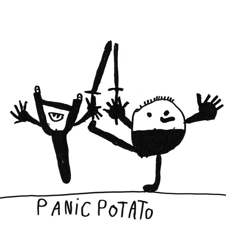 I have a special guest for DAY 16: my friend Hermann draw a very funny Panic Potato for my illustrated advent calendar … thank you Hermann, I love it!!
