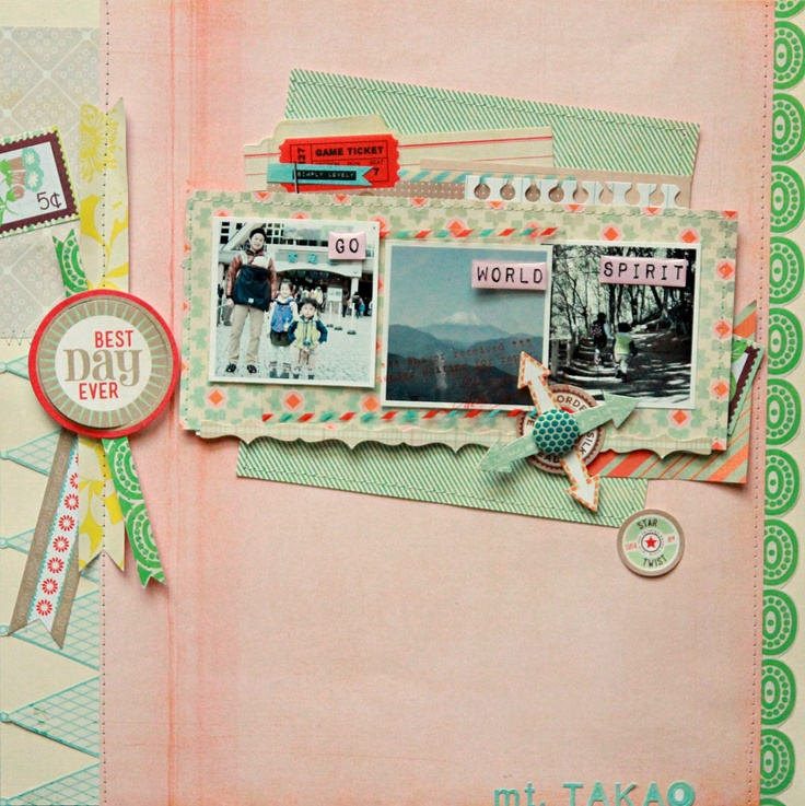photo & scrap life: studio polka DTwork / Basic Grey Fact and Fiction 2