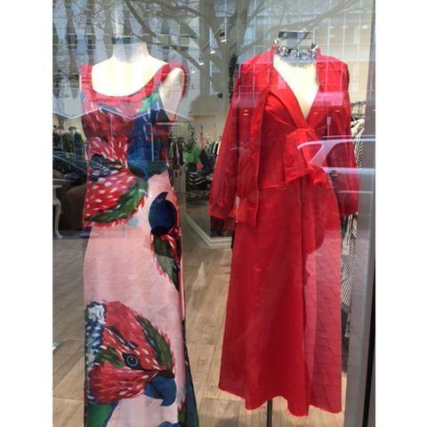 Shop the Trelise Cooper Pink-A-Boo Dress Shop the Cooper Dress Out Dress Shop the Ioanna Kourbela Liveliness Blouse Shop the Trelise Cooper Pin Leg Pant Shop